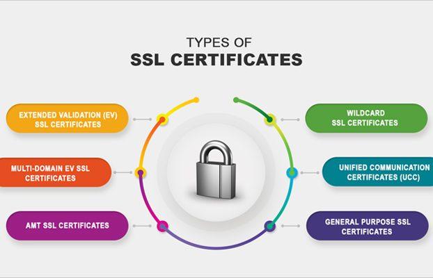 انواع گواهی ssl و تاثیر آن در سئو